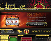 Bonus sur le casino Grand Luxe